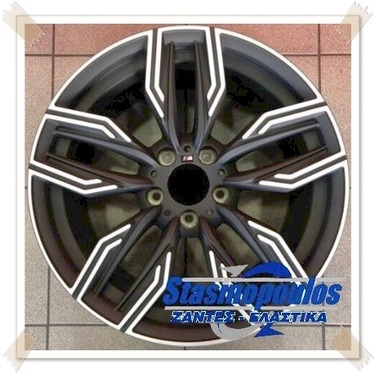 ΖΑΝΤΕΣ 18'' BMW REPLICA 8.5x18 5x120 ET35 BLACK MATT FACE MACHINED ΚΩΔΙΚΟΣ : 10673